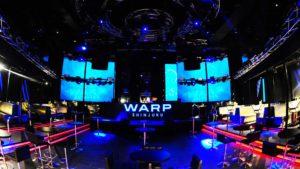 新宿のナイトクラブ「WARP」